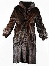 Mink Fur Full Length Jacket
