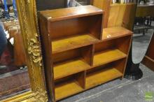 Timber Stepside Bookcase