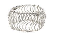 16.45ct.tw Diamond Bracelet 18K