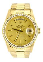 Watch Rolex President Day-Date Men's 18K Yellow Gold