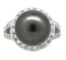 13.94mm South Sea Pearl Ring 18K