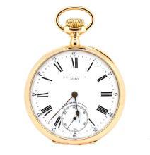 Pocket Watch Patek Philippe Sub Second Dial 18K