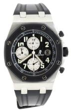 Watch Pre Owned Audemars Piguet Royal Oak Offshore Automatic Chronograph Steel Serial: 4538 Reference: F11332