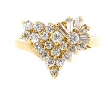 1.01ct.tw Diamond Ring 14K