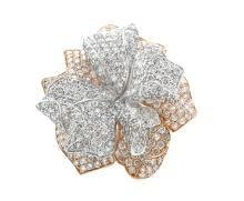 10.67ct.tw Diamond Flower Design Ring 18K