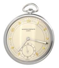Pocket Watch Vacheron Constantin-Collectors- Ultra Thin-Platinum