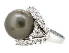 15.5mm South Sea Pearl Ring 18K