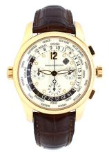Watch Pre Owned Girard Perregaux World Time Reference: : 49800 Serial: 2041   18K Rose Gold