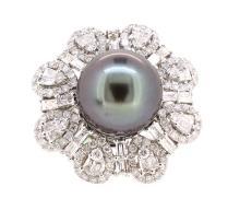 13.1mm South Sea Pearl Ring 18K