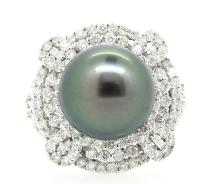 13.16mm South Sea Pearl Ring 18K