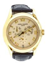 Patek Philippe - Automatique - Triple Date Gent's Yellow Gold 18K