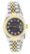 Watch Rolex Ladies Datejust 18K & Stainless Steel Model: 69173