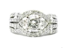 1.67ct. Diamond Ring 18K