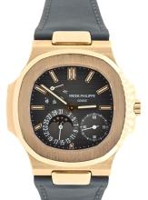 Watch Pre Owned Patek Philippe Nautilus 18K Rose Gold  Reference: 5552036 Caliber: 240/164