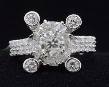 2.76ct.tw Diamond Ring 18K