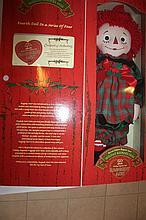 Special Edition Raggedy Ann, Holiday Keepsake Doll
