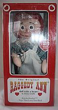 The Original Raggedy Ann  doll with a heart, by Johnny Gruelle, Knickerbocker, NIB