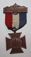 Womens Relief Corps 1883 Medal.