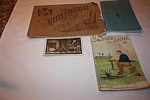 Spanish American War Items. Post Card, The Soldier's Letter 1898, Poster-Attention US Soldiers.