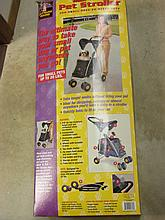 Dog Strollers and pet carriers.