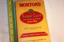 Box of Morton's Sugar Cure.