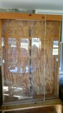 Lighted Display Cabinet.  Looks to be hand made