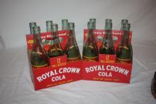 Royal Crown Bottles (2 6 packs)