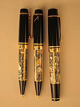 Montblanc Meisterstuck 1996 Alexandre Dumas Three Piece Writing Set.