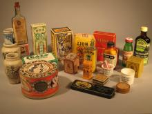 Collection of Antique and Semi-Antique Store Products.