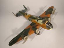 Marx Tin Four Engine Bomber.