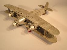 Metalcraft Steel Kit Airplane.