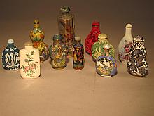 Snuff Bottle Collection.