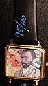 ORIGINAL STEVE KAUFMAN Hand-Signed/Autographed & #95/100 VAN GOGH WATCH! RARE