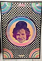 1968 PETER MAX & Michael Pollard Psychedelic 60's Poster