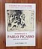 PABLO PICASSO 1971