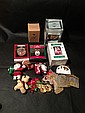 lot of old christmas decorations