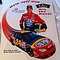 NASCAR Jeff Gordon Edy's Ice Cream Freezer Decal! Large 17x23