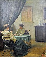 AMERICAN SCHOOL INTERIOR SCENE, c.1913