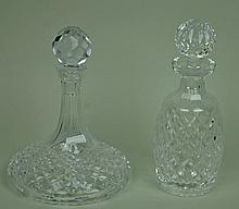 (2) WATERFORD DECANTERS