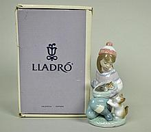 LLADRO FIGURINE - FRIDAY'S CHILD (GIRL)