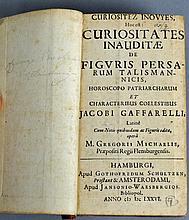 CURIOSITATES INAUDITAE, JACQUES GAFFAREL, 1676