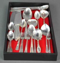 (22) PIECE STERLING FLATWARE GROUP