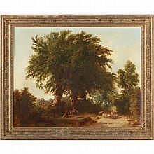 att. Thomas Barker (Br., 1769-1847), Prologue to Evening
