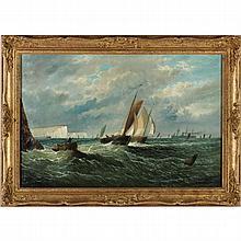 English School Maritime Painting