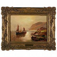 Walter Linsley Meegan (Br., 1859-1944), The Cornish Coast