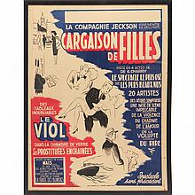 Large Vintage French Travel Poster