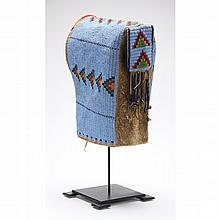 Sioux Beaded Hide Cradle Cover