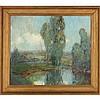 George Thompson Pritchard (1878-1962), French Garden, George Thompson Pritchard, $500