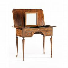 Continental Ladies Inlaid Dressing Table