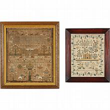 Two 19th Century English Samplers